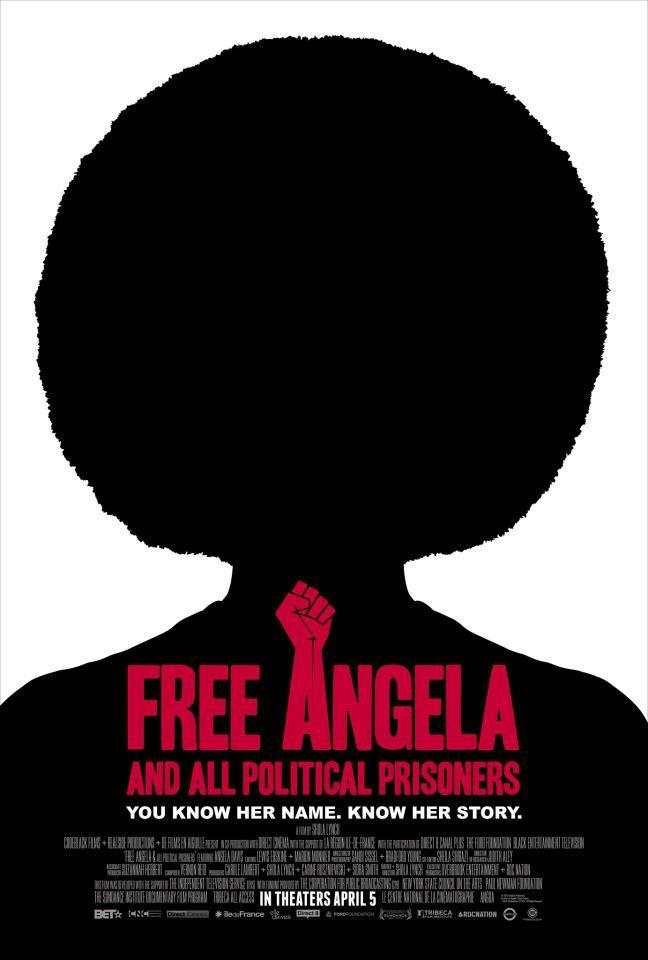 Free Angela Poster